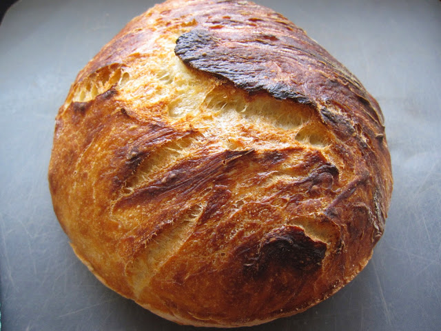 Super Simple No Knead Overnight Bread