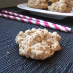Oatmeal Yogurt Raisin Cookies