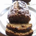 Raisin and Coconut Pumpkin Bread