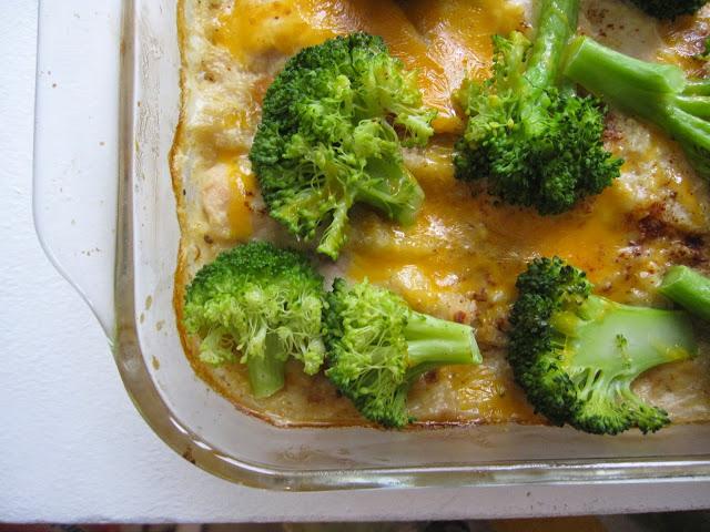 Chicken, Broccoli and Quinoa Casserole