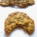 Flourless, Butterless Peanut Butter Cookies