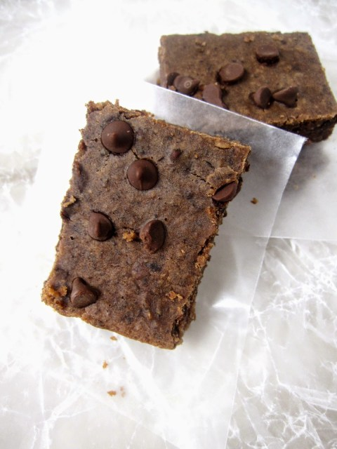 Black Bean Brownies. Butterless, flourless, eggless and healthy