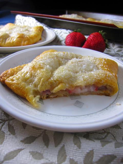 Easy Strawberry Raspberry Cream Cheese Danishes