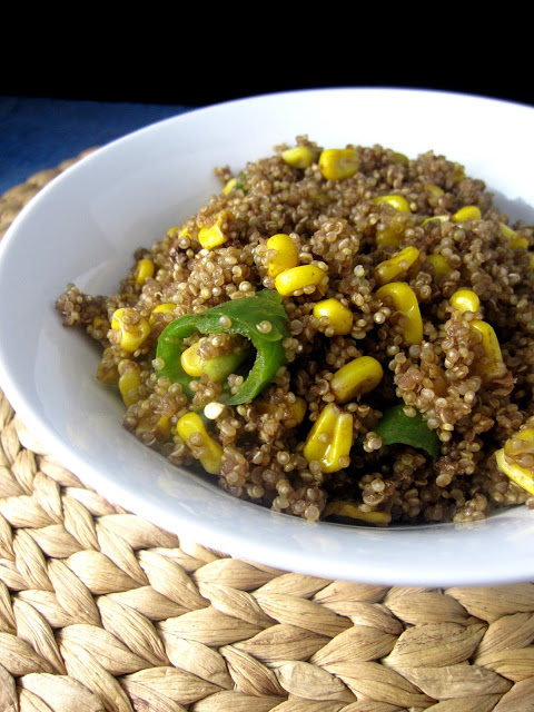 Jalapeno and Corn Quinoa