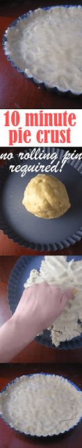 Easy Pie Crust (No Rolling Pin Required!)