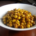 Honey-Roasted Cinnamon Chickpeas