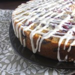 Fresh Cherry Coffee Cake