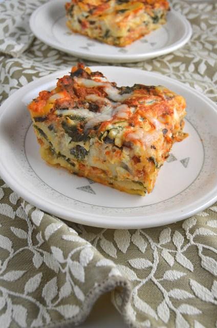 Spinach Lasagna
