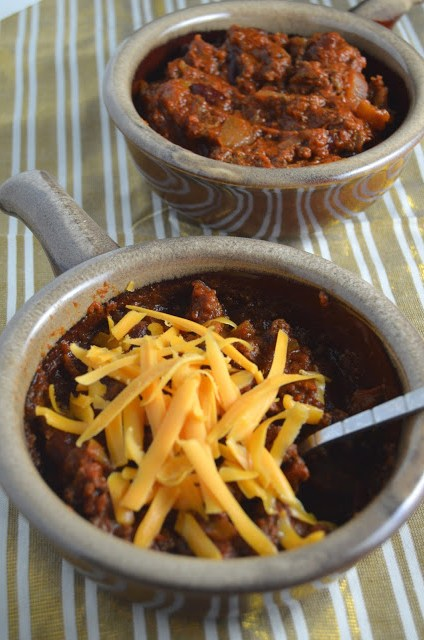 Spicy Slow Cooker Chili