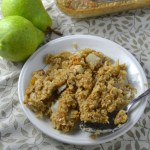 Ginger Pear Baked Oatmeal