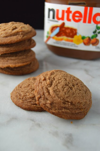 Nutella Drop Cookies