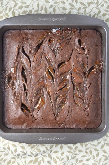 Nutella Dulce de Leche Brownies