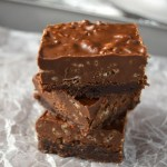 Rice Krispies, Peanut Butter and Nutella Brownies Recipe