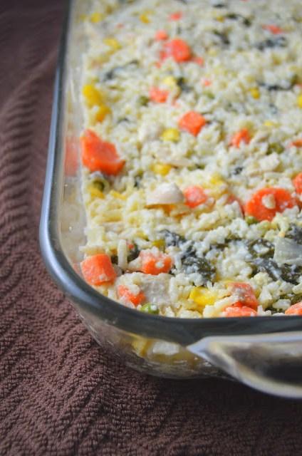 Kale, Rice and Vegetable Freezer Casserole Recipe
