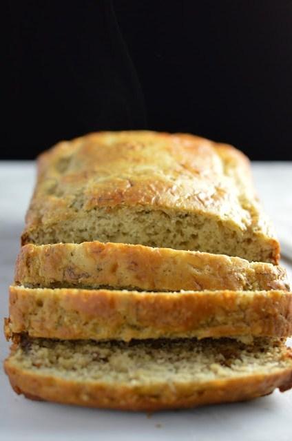 Healthy Hemp Heart Banana Bread