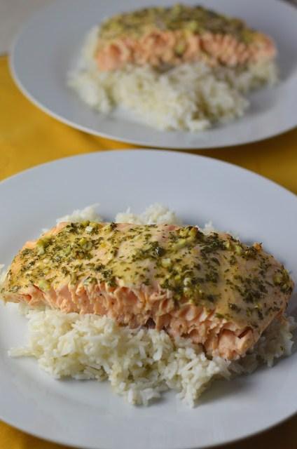 Lemon and Garlic Salmon Recipe