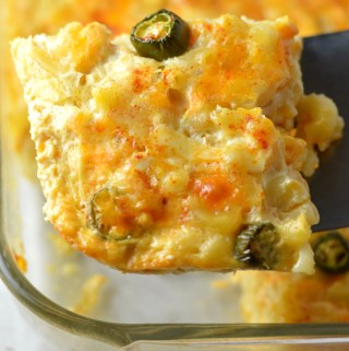 Jalapeno Baked Macaroni and Cheese
