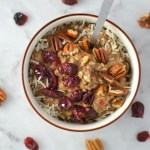 Pecan, Cranberry and Banana Oatmeal