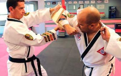 Valdosta 6th Degree Black Belts Mark Webb and Mitchell Church Demonstrate