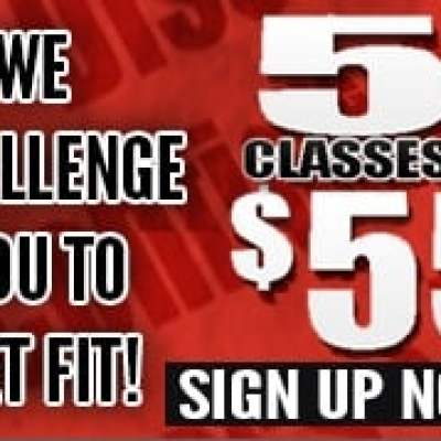 5 Classes for $55