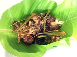 Chicken Lechon Paksiw in Lemon Grass