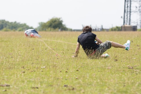 ATBShop - Learning To Power Kite - Face Plant