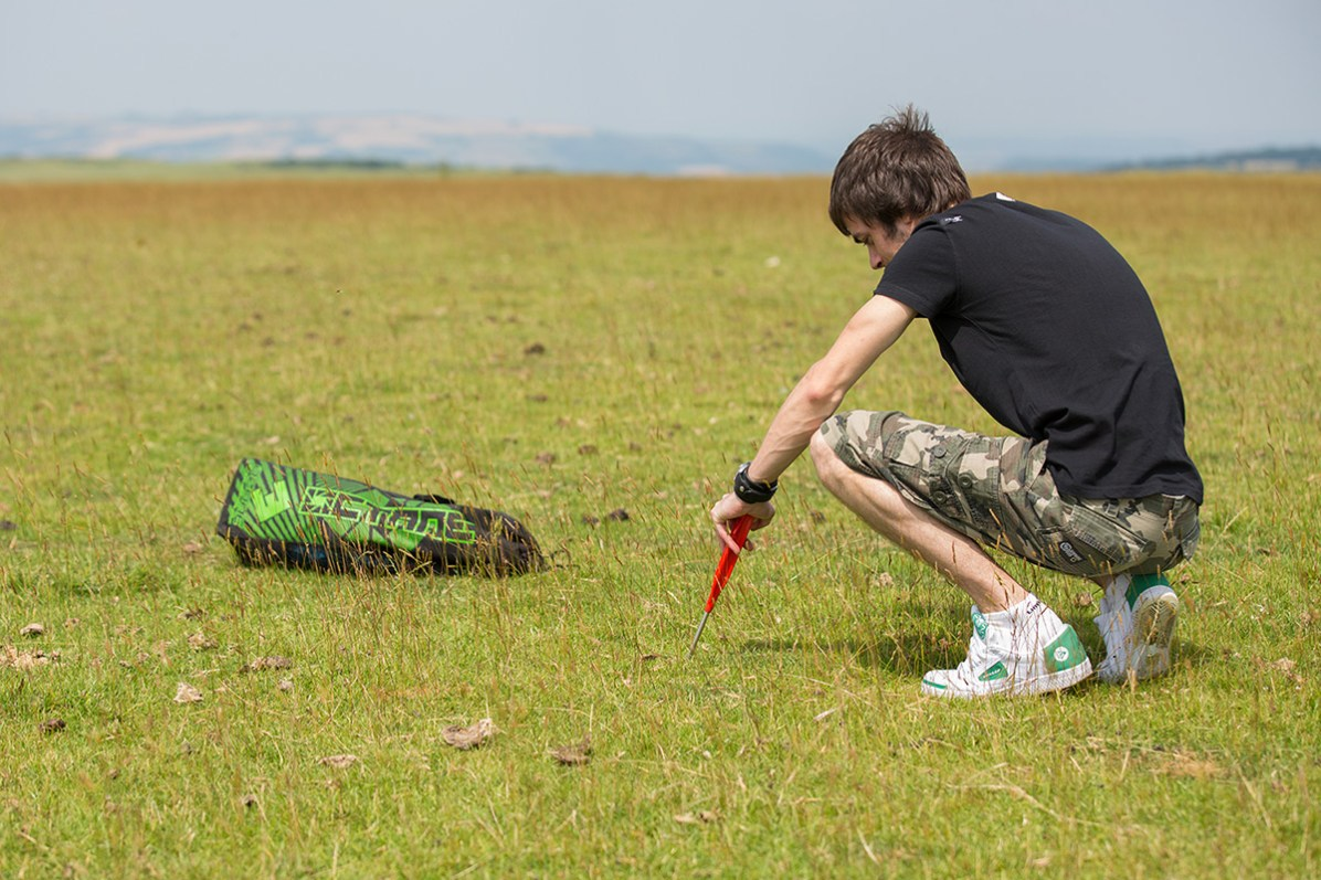 ATBShop - Learning To Power Kite - Ground Stake