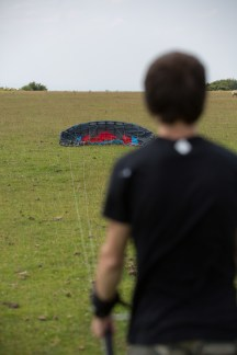 ATBShop - Learning To Power Kite - Launching The Kite