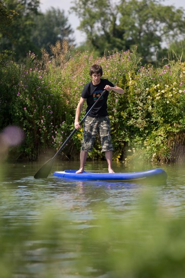Introduction to SUP - River paddling
