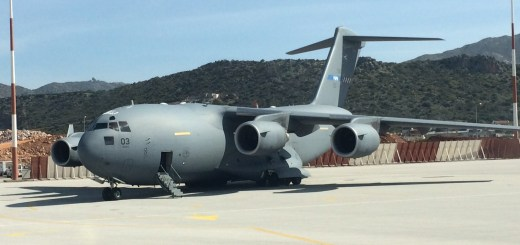 C5 USAAF at Chania Airport