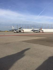 F16 at EHAM