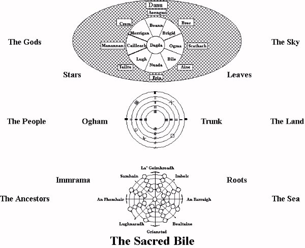Bile as the World Tree