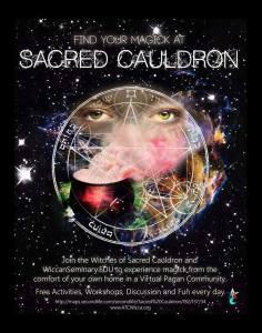 SacredCauldron ad