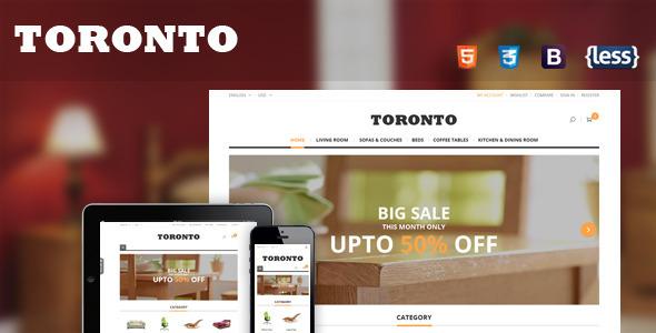 تحميل قالب SNS Toronto v1.0.1 مجانا للمتاجر الماجنتو
