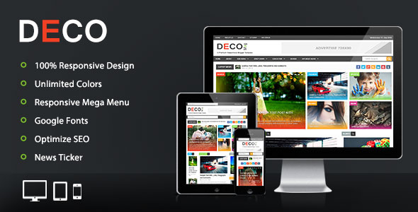 تحميل قالب Deco Mag 1.00 مجانا للمدونات البلوجر