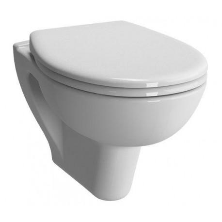 wc suspendue de marque vitra modele normus avec double abattant