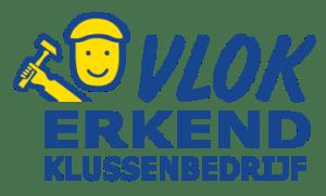 A.T. de Zeeuw Klussenbedrijf is een VLOK erkend klussenbedrijf en geeft garantie volgens de VLOK uitvoeringsvoorwaarden.