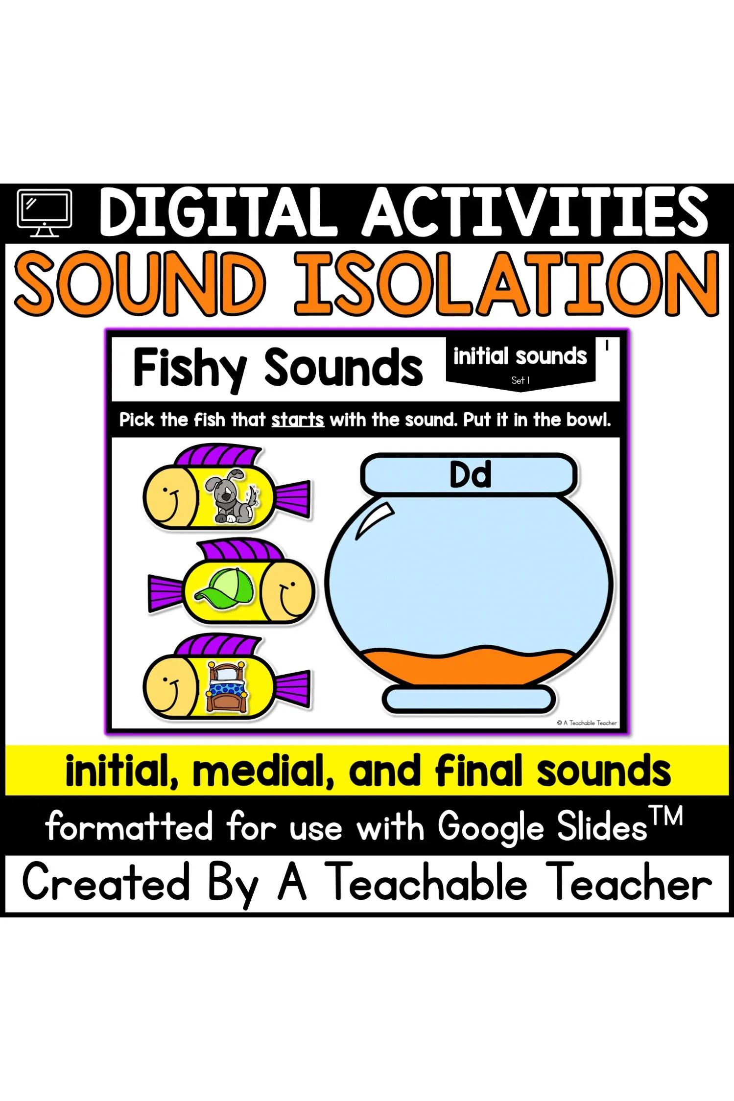 Digital Phonemic Awareness Games