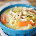 Quick and Easy Chicken Noodle Soup by A Teaspoon of Home