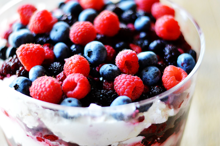 Berry Trifle by A Teaspoon of Home