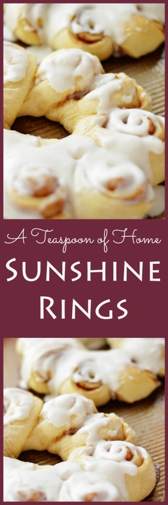 Sunshine Rings by A Teaspoon of Home