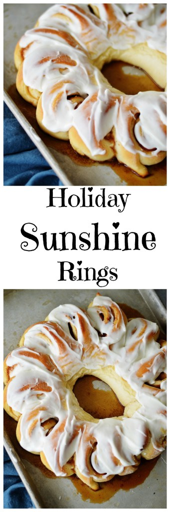 Holiday Sunshine Ring by A Teaspoon of Home