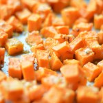 Baked Parmesan Sweet Potatoes by A Teaspoon of Home