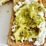 Avocado Power Toast by A Teaspoon of Home