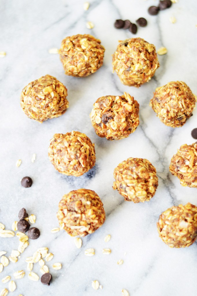 No Bake Powerballs by A Teaspoon of Home