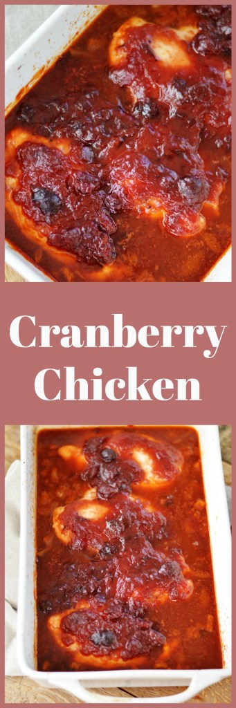 Cranberry Chicken by A Teaspoon of Home
