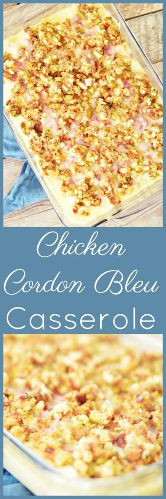 Chicken Cordon Bleu Casserole by A Teaspoon of Home
