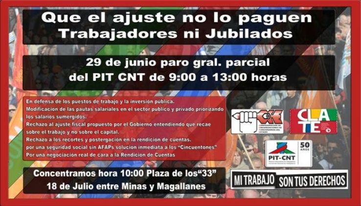 AFICHE DE COFE PARA EL PARO PARCIAL 29-6