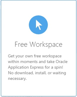 oracle-application-express-free-workspace