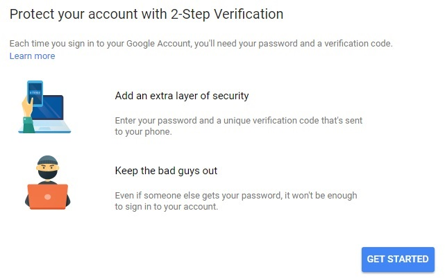 How to Secure Google Account Using 2 Step Verification Authentication